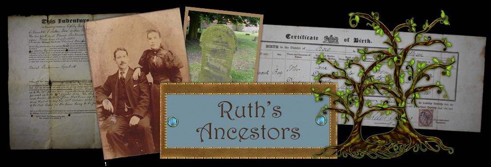 Ruth's Ancestor's