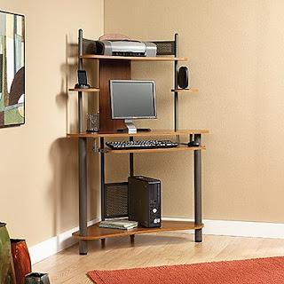 Corner Computer Desks For Small Spaces: Corner Computer Desks For