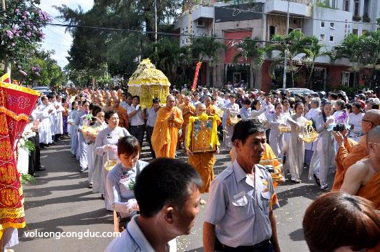 Cung tiễn Trà tỳ Kim Quan Cố HT - Thích Giác Dũng - voluongcongduc.com -23