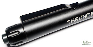 Thrunite Ti4 2xAAA Flashlight / Penlight - Deep Carry Clip 2