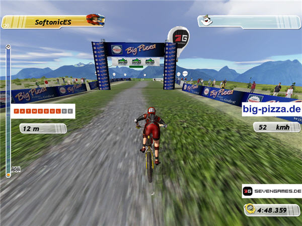 Mountainbike Challenge game bicicleta