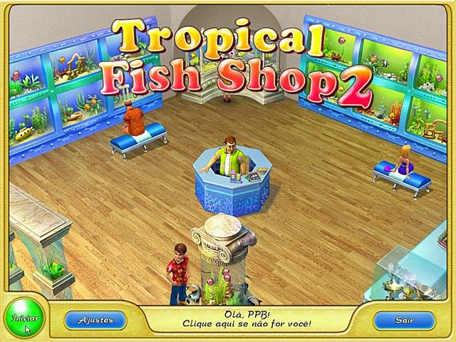 Tropical Fish Shop 2 PT-BR Portable