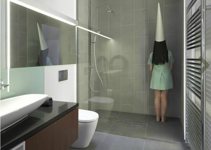 Raisin House Beautiful Bathrooms Using Grey Sandstone