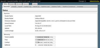 how to change ip address in openwrt putty