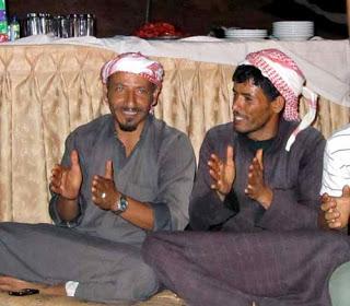 Bedouin men in Jordan