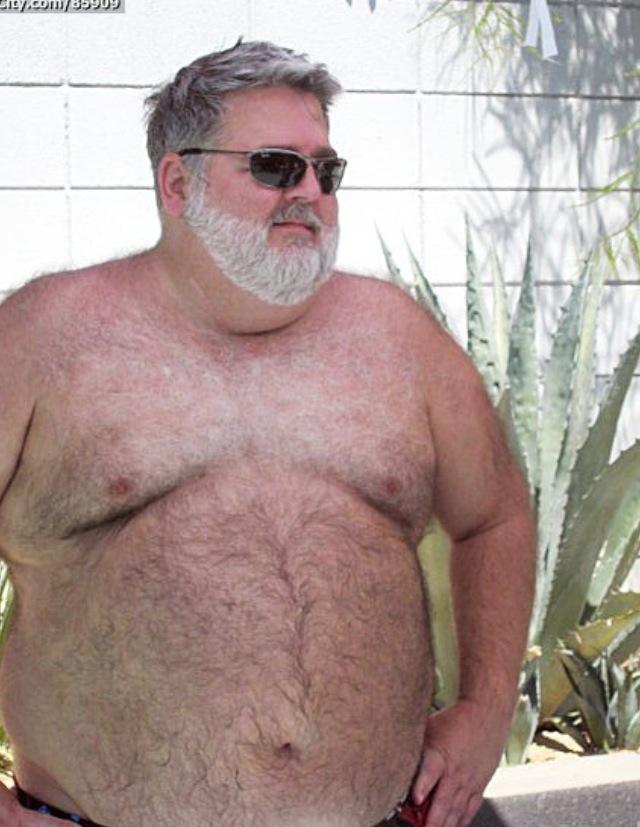 Hombres Gordos Peludos Desnudos
