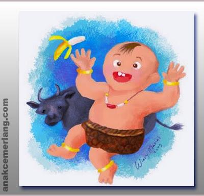 Kebo Iwa Cerita Legenda Rakyat Bali