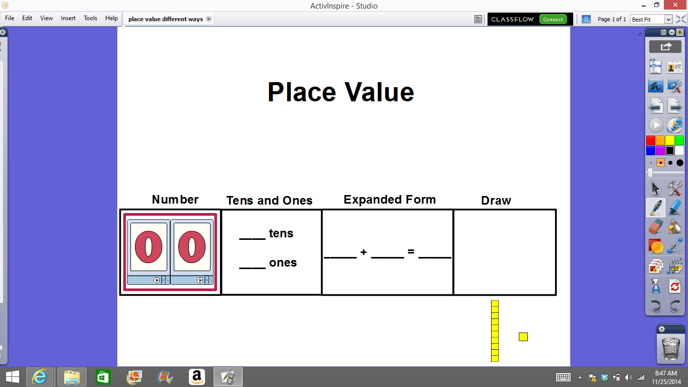 Mrs ts first grade class place value flipcharts place value flipcharts falaconquin