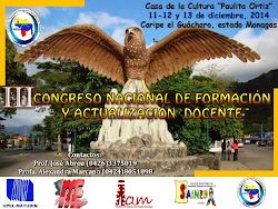III Congreso Nacional de Formación y Actualización Docente