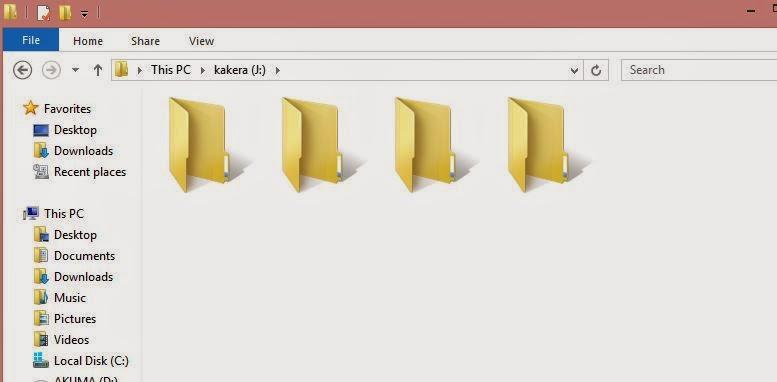 Cara Membuat Folder Tanpa Nama di Windows