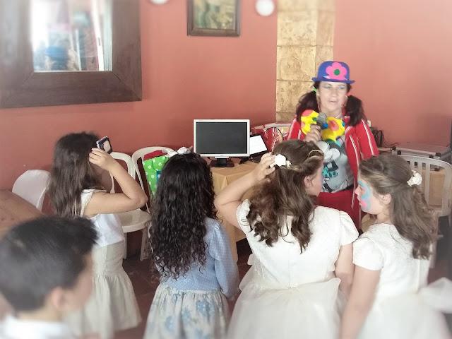 Animación para primera comunión en Las Pajanosas