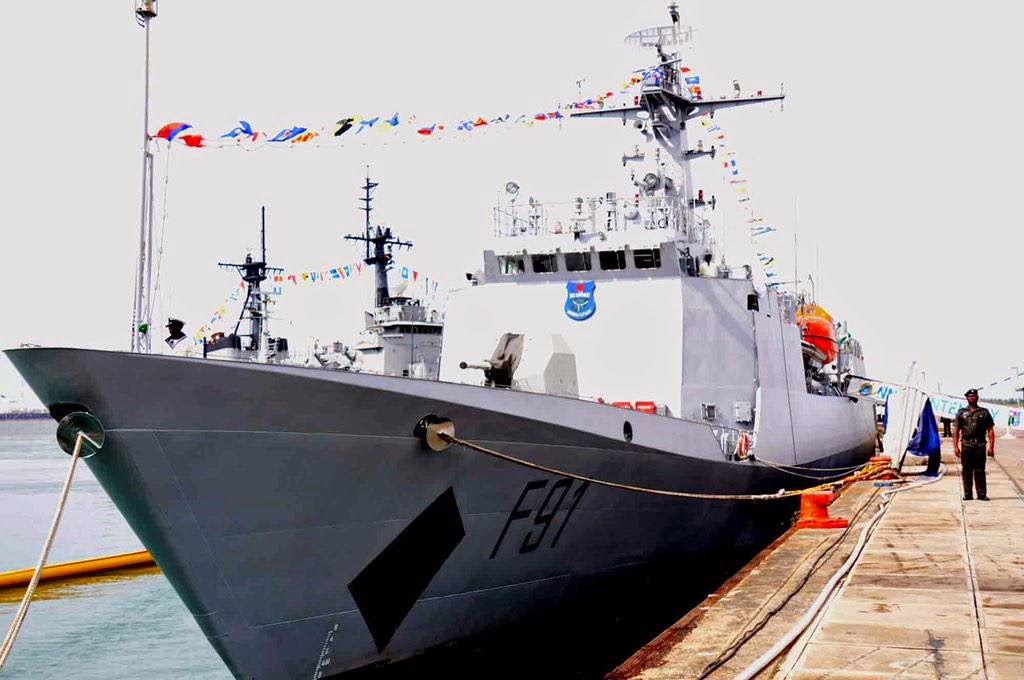 new nigerian navy ships