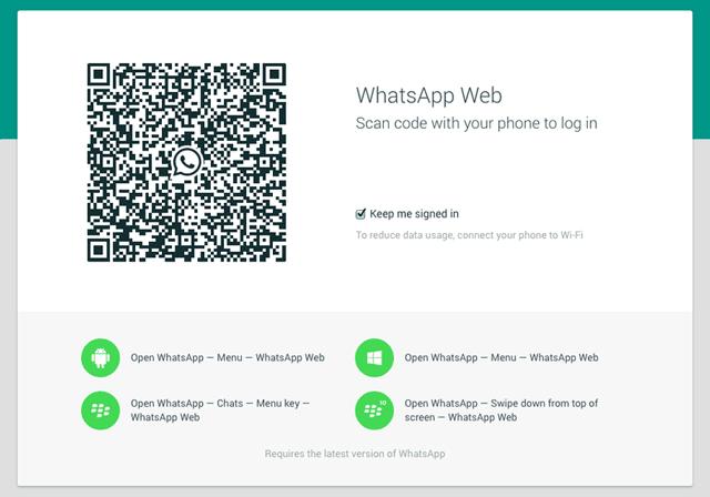 Cara Membuka WhatsApp Web di Komputer