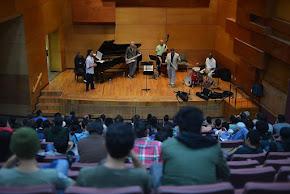 Grandes maestros del jazz dan cátedra a jóvenes músicos, en el Xalapa Jazz Festival 2016