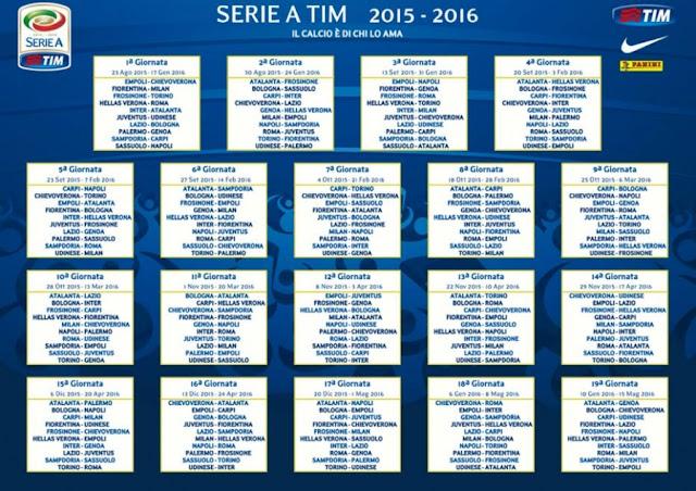 Serie A 2015/16 - Reprodução
