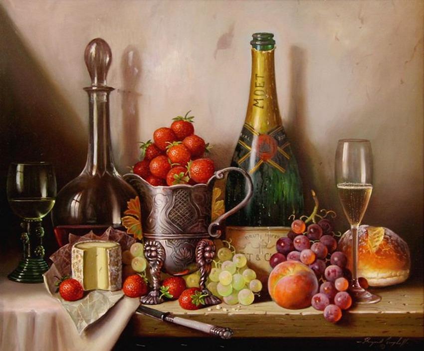 Im genes arte pinturas cuadros pintados al oleo de bodegones - Cuadros con fotografias ...