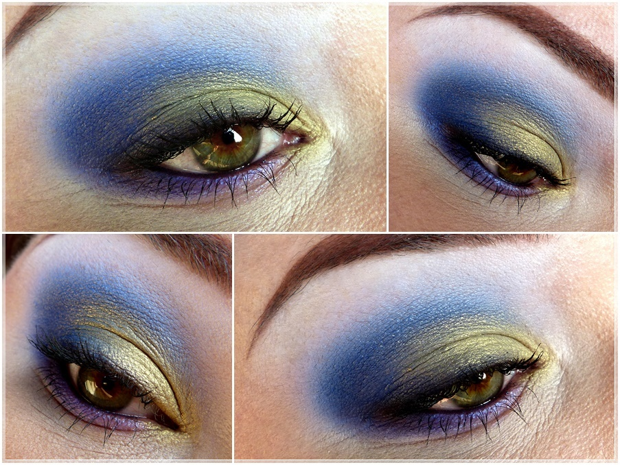AMU Blau Olivgrün Look