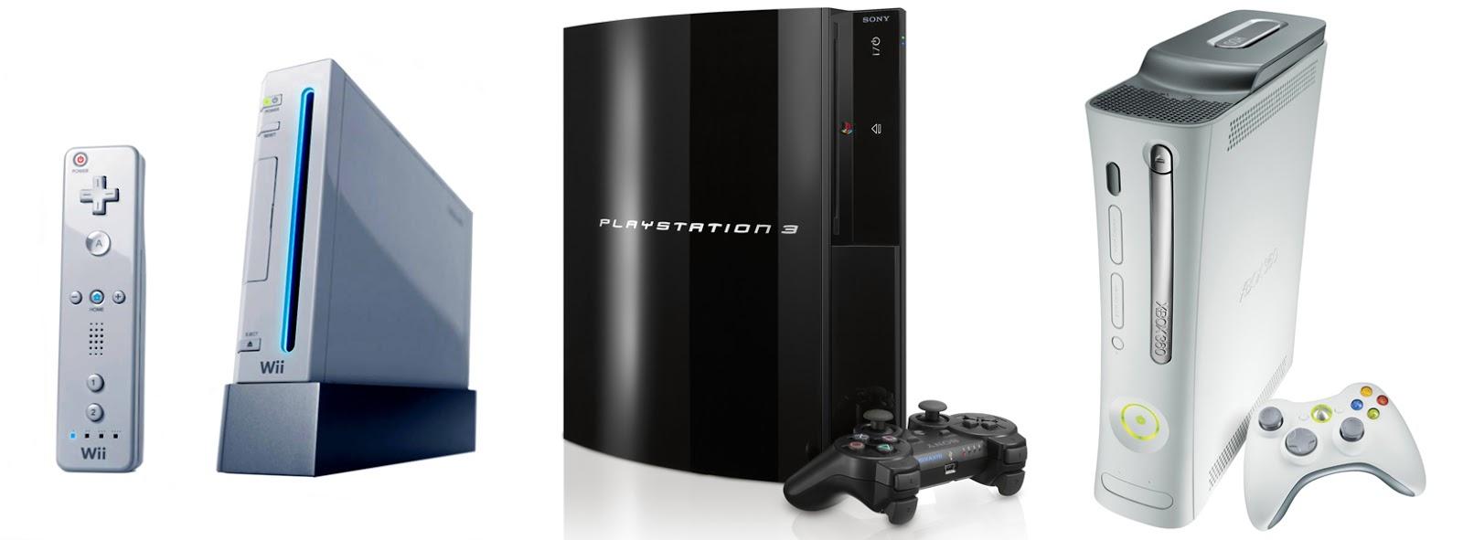 consolas de videojuegos 7 generacion