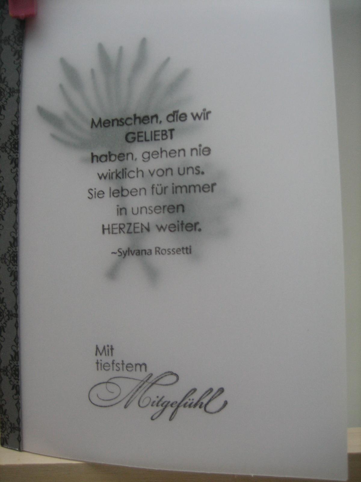 sprche auf trauerkarten ~ jan.cukjati design