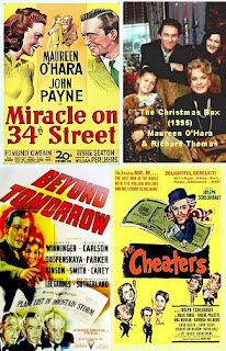 the cheaters 1945 miracle on 34th st 1947 beyond tomorrow 1940 the christmas box 1995 4 films 2 dvds - The Christmas Box Movie