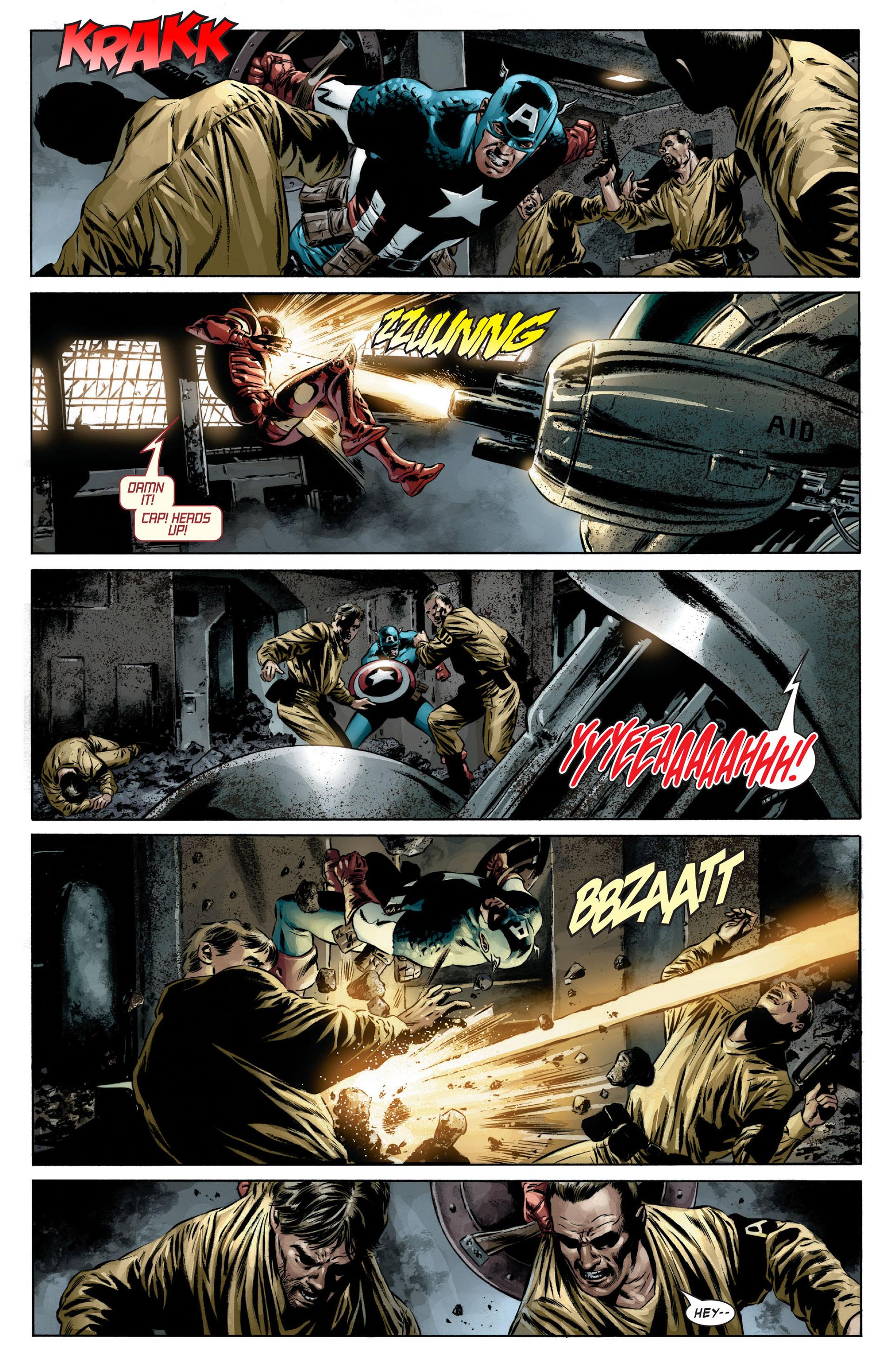 Captain America (2005) Issue #13 #13 - English 14