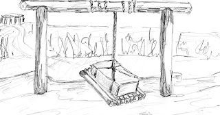 TSE - drawing of the Stonehenge Cradle