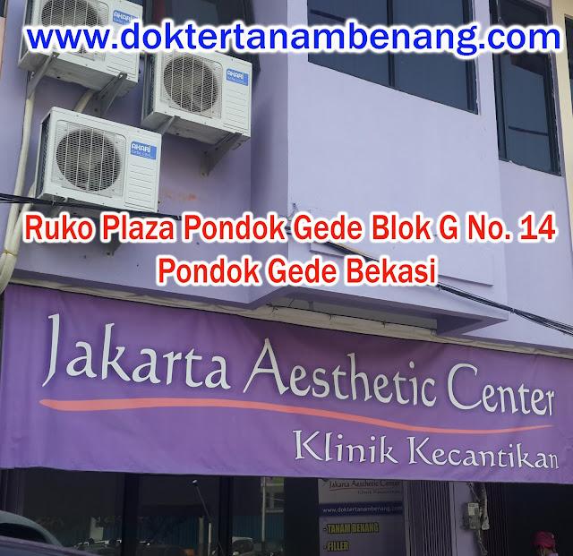 klinik kecantikan jakarta aesthetic center spesialis tanam benang filler di pondok gede www.doktertanambenang.com