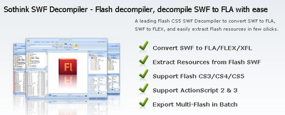 Download Sothink SWF Decompiler 6.1.617 Windows
