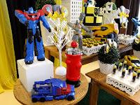 Decoração Transformers Porto Alegre provençal