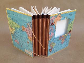 pamiętnik z podróży jak zrobić tutorial travel journal eco manufaktura