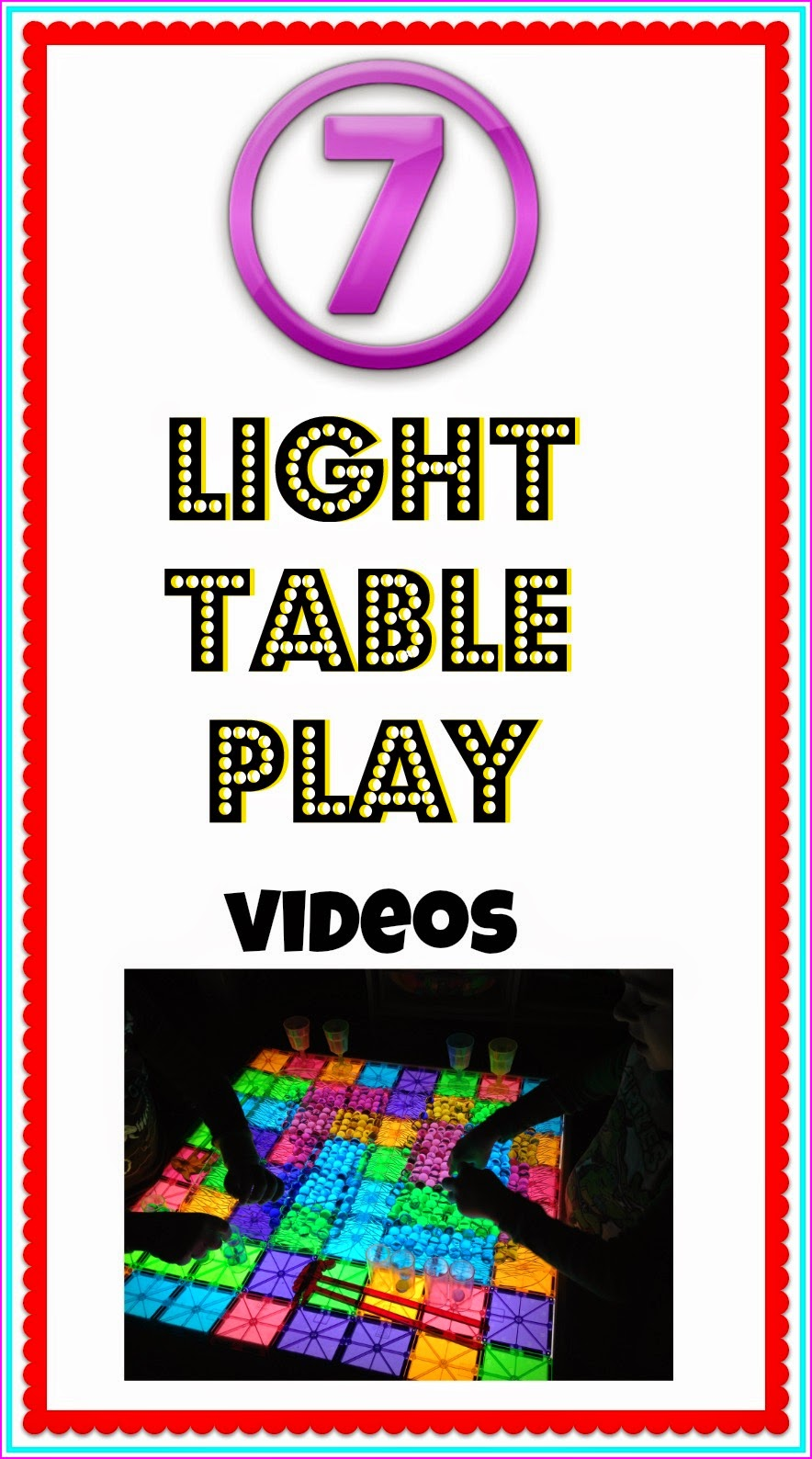 youtube light table play videos