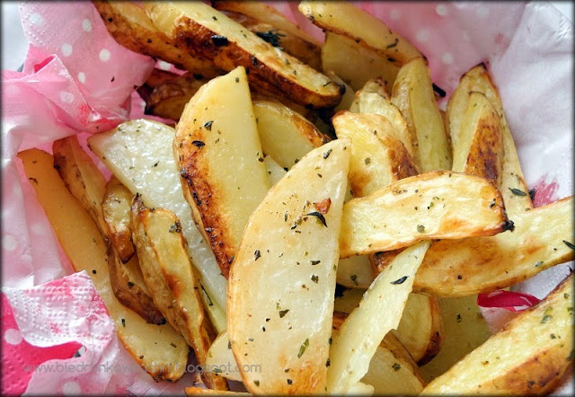 ziemniaki z piekarnika, pieczone ziemniaki, ziemniaki w ziołach