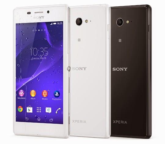 Sony Xperia M2 Aqua Juga Telah Dilancarlan