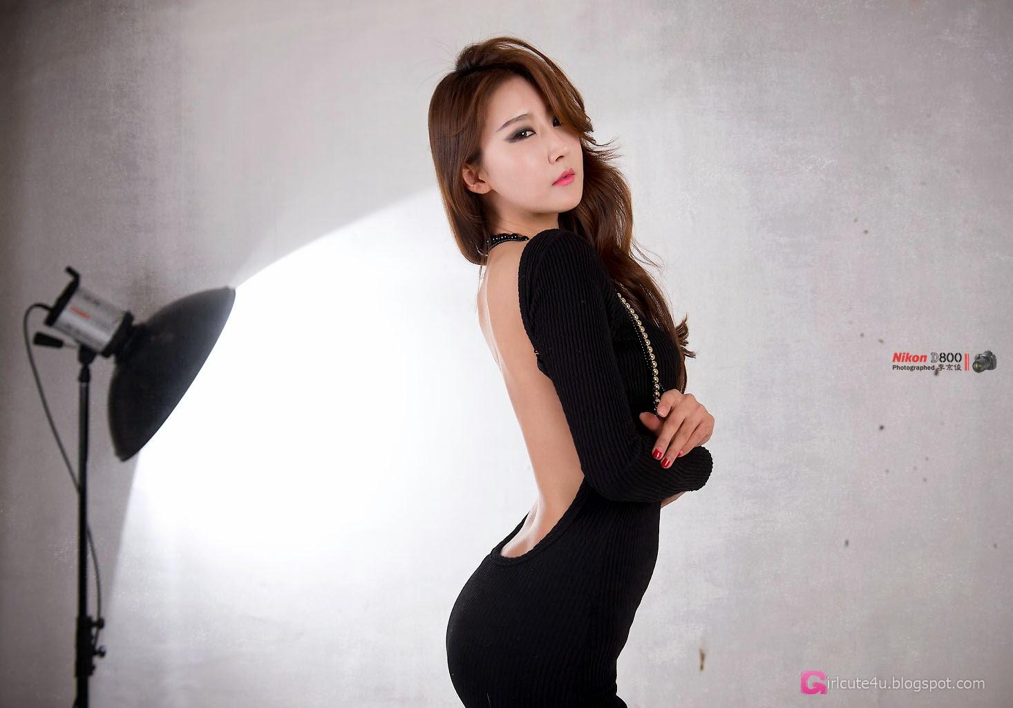 1 Park Hyun Sun - Studio Photo Shoot, 3 Different Outfits - very cute asian girl-girlcute4u.blogspot.com