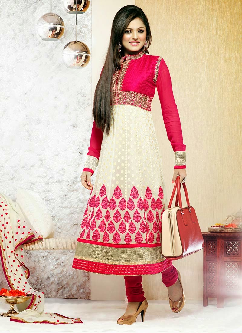 Aamna Sharif and Drashti Dhami Photoshoot In Latest Anarkali Suit