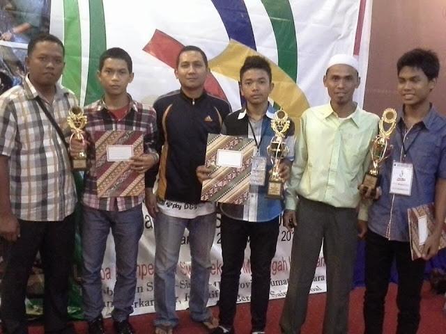 Pemenang LKS 2013 dari SMKN2 Tanjungbalai