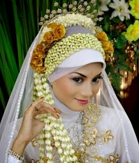 hijab pengantin jawa