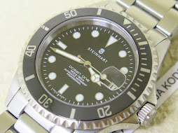 STEINHART OCEAN ONE DIVER 1000ft / 300m BLACK DIAL CERAMIC BEZEL - AUTOMATIC - MINT CONDITION