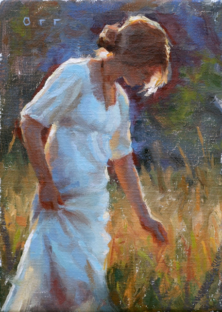 American figurative painter andrea orr fine art and for Atlanta oil painting artists