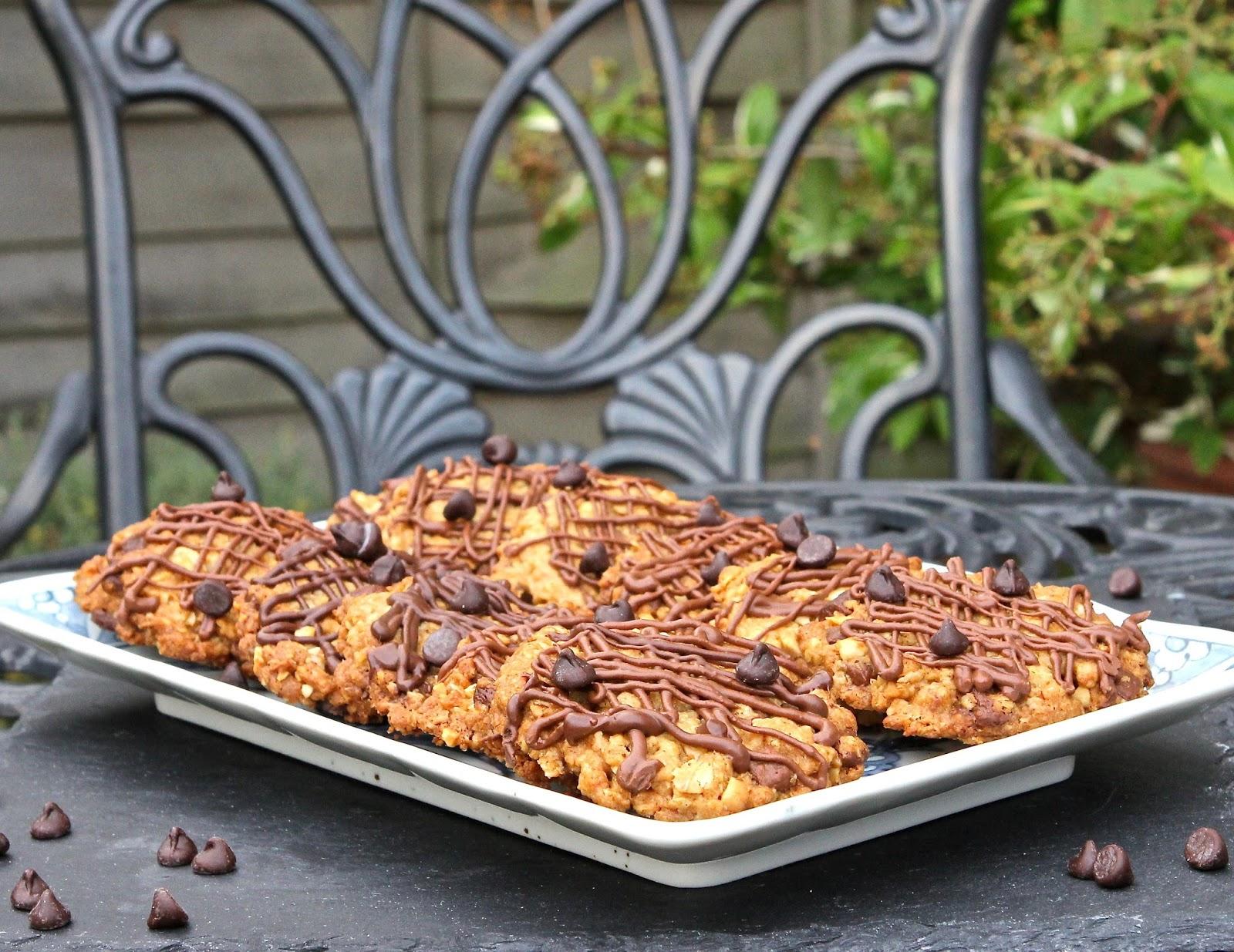 Gluten Free Alchemist: Oat, Peanut & Choc Chip Cookies ...