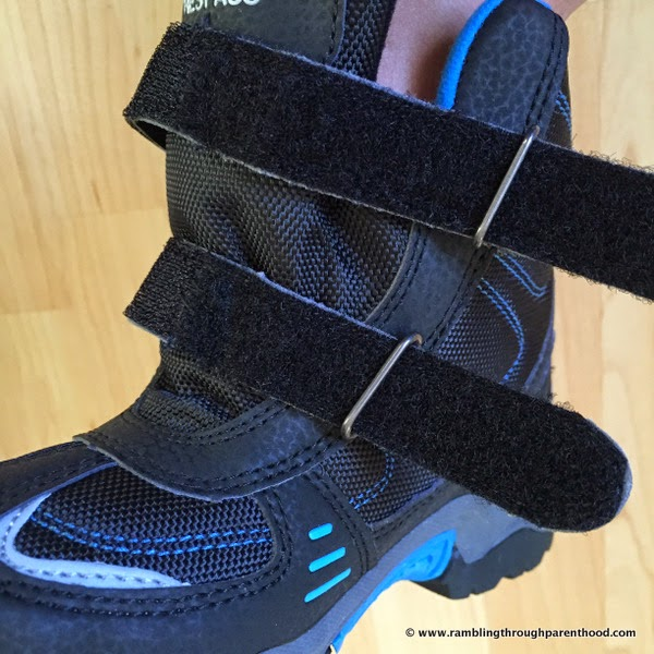 Attention to detail  - Giz Gaz walking boots by Trespass