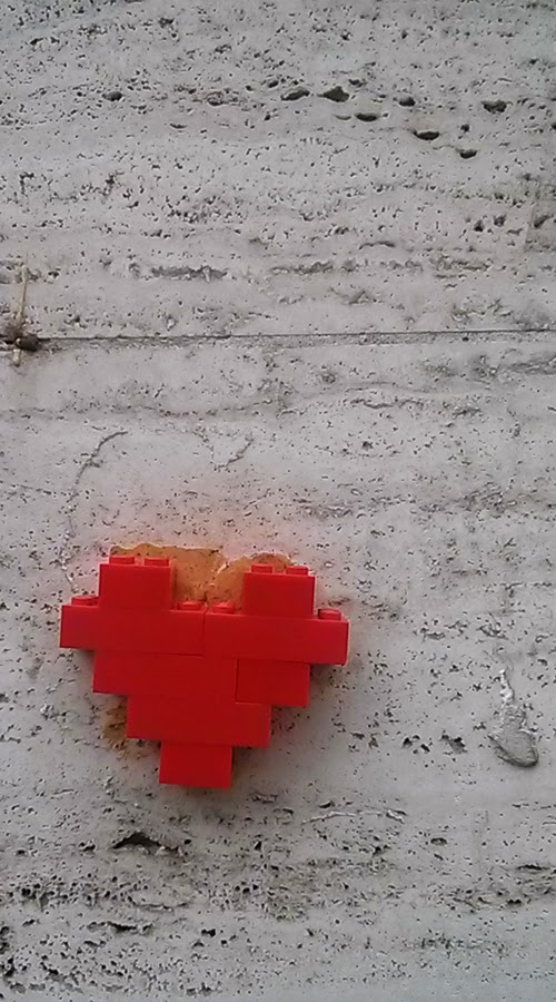 Streetart, Urbanart, Lego