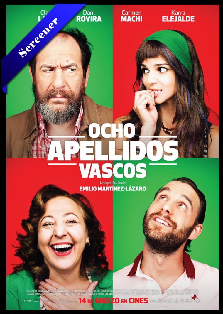 Ocho Apellidos Vascos Screener Castellano 2014