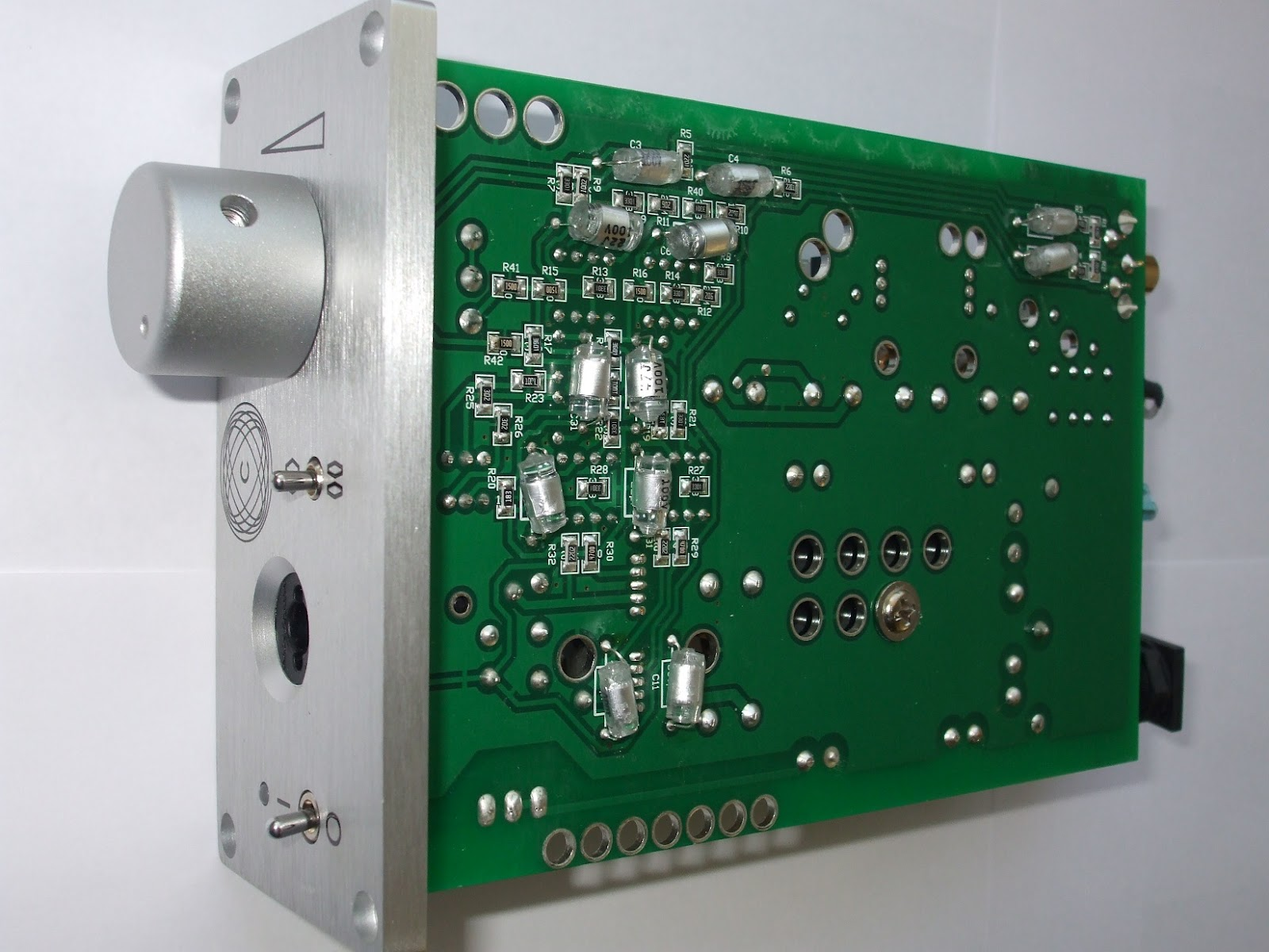 Bo Meier Audio Corda Arietta Headphone Amplifier Inside Head Phone Circuit Bottom