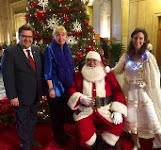 Mayor Denis Coderre  & Santa