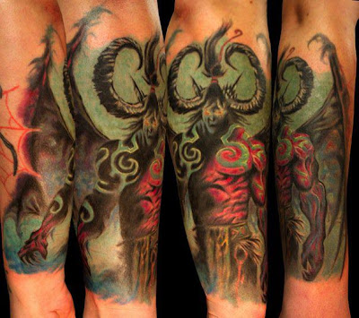 tattoo gamer - Illidan / WoW / Demon Hunter