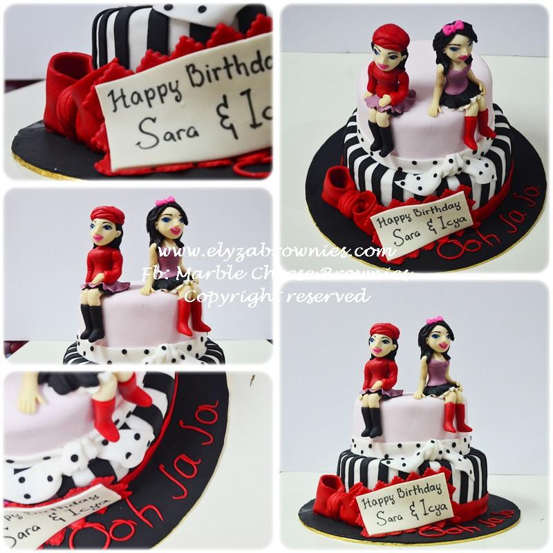 French Themed Birthday Cake French Girls Themed Birthday
