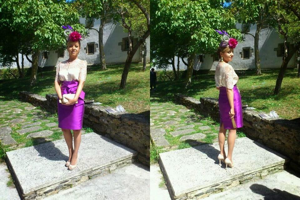 Invitada boda de día Boüret