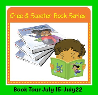Cree and Scooter book tour