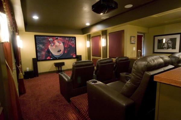 chambre thème cinéma